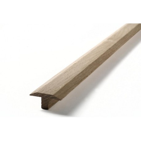 Übergangsprofil Vollholz 42x22, 1m