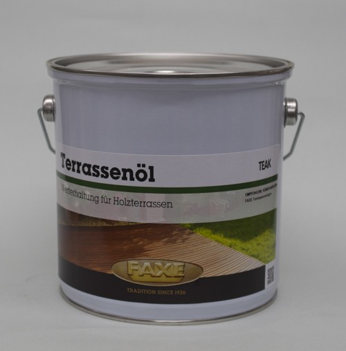 Faxe Terrassenöl Teak 2,5 l Gebinde