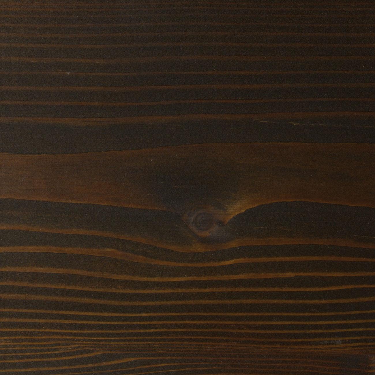 53. Lärche geschliffen, mit Faxe Speziallauge zzgl. 5% Faxe Combicolor schwarz gelaugt und mit Faxe Holzbodenöl natur geölt