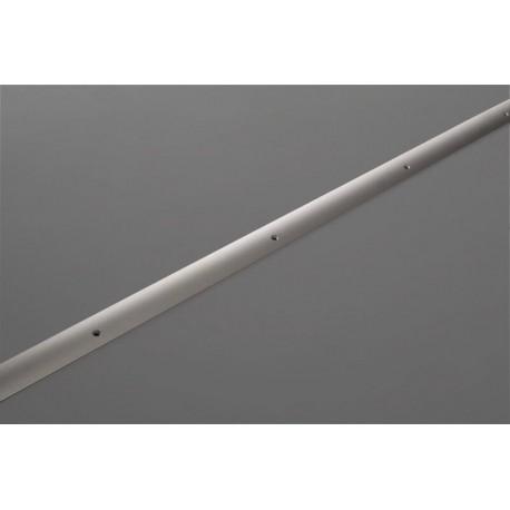 Übergangsschiene eloxiert silber, 270cm