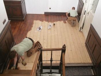 Holzboden Beizen pflege sanierung handwerk parkett naturnah shop