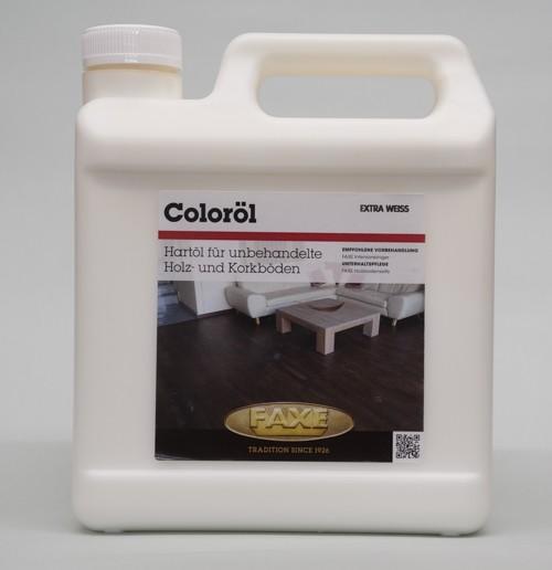 Faxe Coloröl extra weiß -2,5 l Gebinde