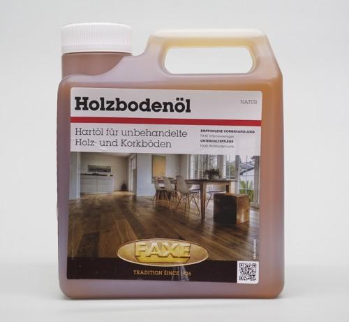 Faxe Holzbodenöl natur 1 l Gebinde