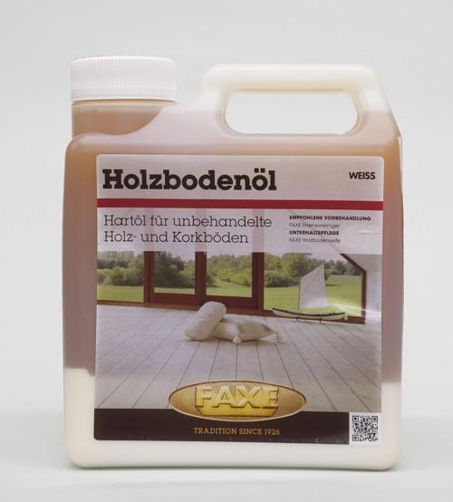 Faxe Holzbodenöl weiß 1 l Gebinde