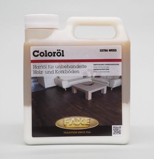 Faxe Coloröl extra weiß 1 l Gebinde