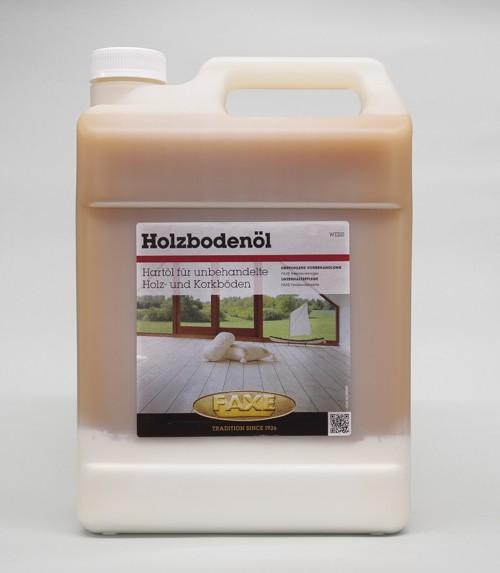 Faxe Holzbodenöl weiß 5 l Gebinde