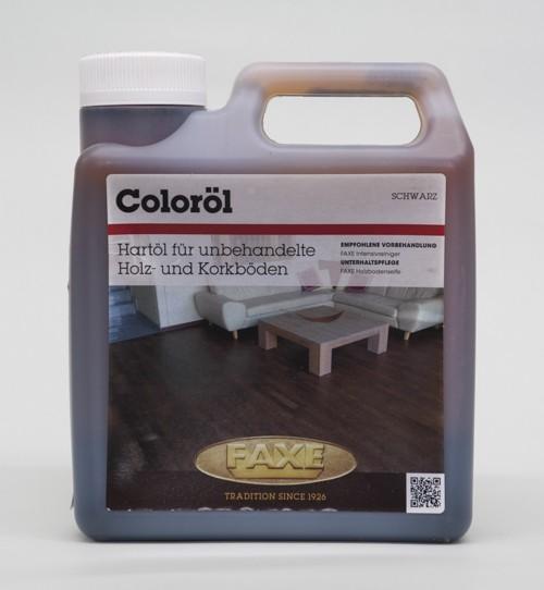 Faxe Coloröl schwarz 1,0 l Gebinde