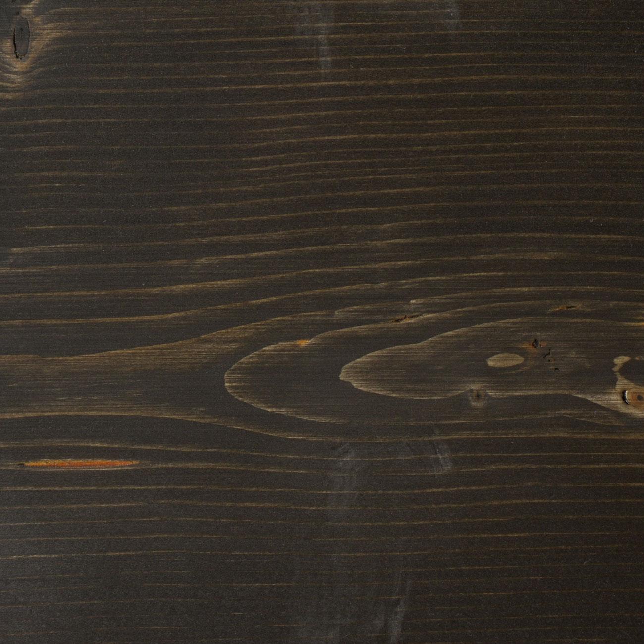 105. Fichte geschliffen und mit Faxe Coloröl schwarz geölt