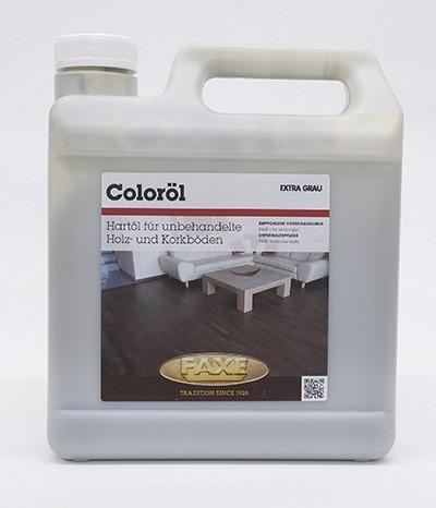 Faxe Coloröl extra grau 2,5 l Gebinde