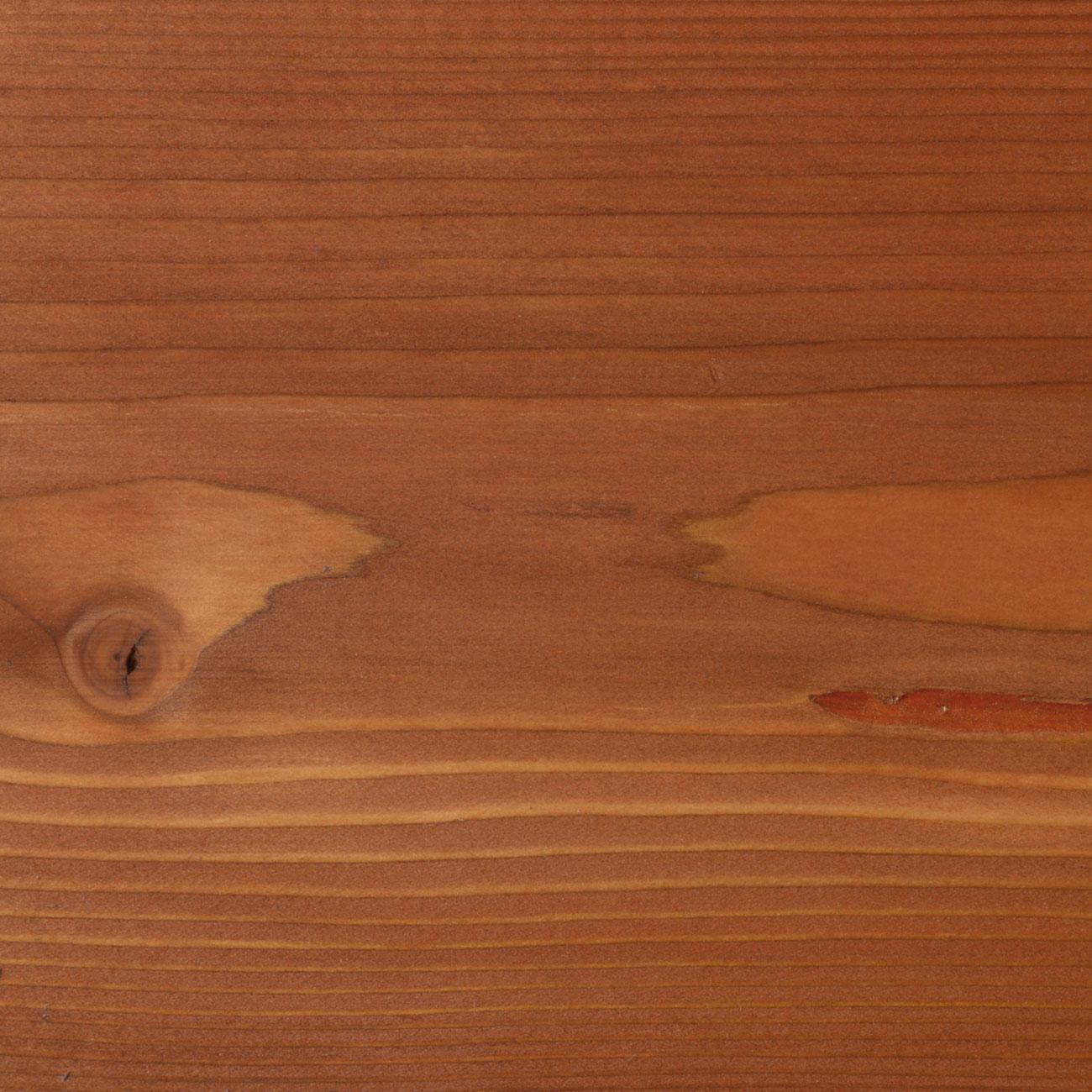 61.Lärche geschliffen, mit Faxe Speziallauge zzgl. 5% Faxe Combicolor rotbraun gelaugt, mit Faxe Holzbodenöl natur geölt