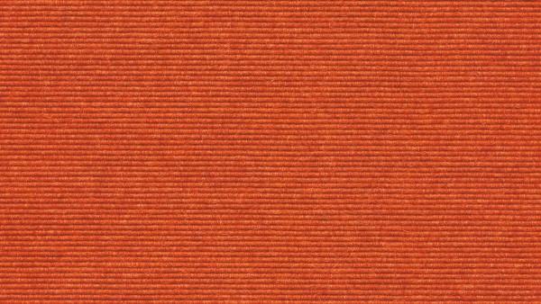 tretford-Teppich EVER, Bahnenware mit Juterücken Nr. 585 Orange