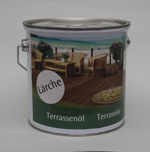 Faxe Terrassenöl Lärche 2,5 l Gebinde