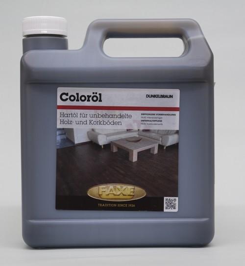 Faxe Coloröl dunkelbraun 2,5 l Gebinde