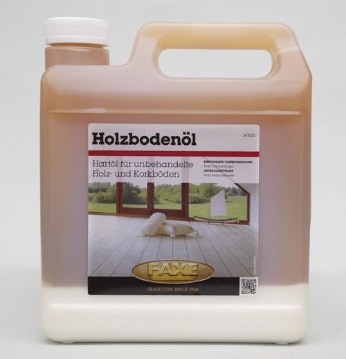 Faxe Holzbodenöl weiß 2,5 l Gebinde